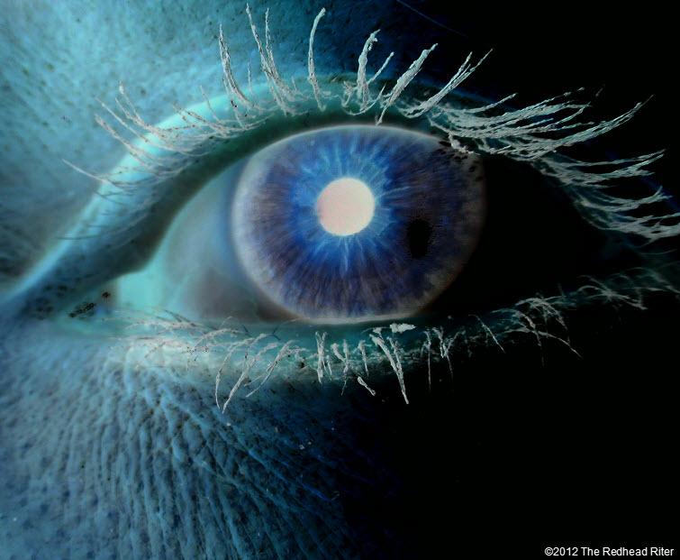 negative eyes window of the soul