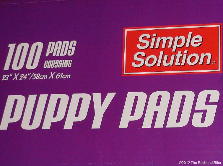 puppy pee pads 100 pads