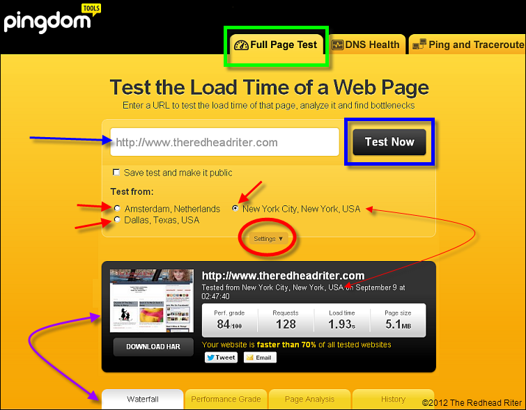 Test Your Website Load Time 1