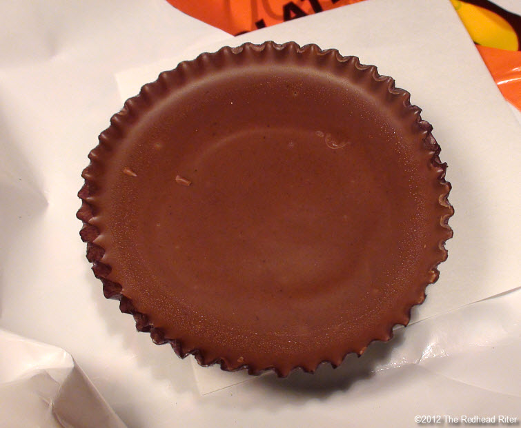 reeses peanutbutter cup unwrapped whole 4