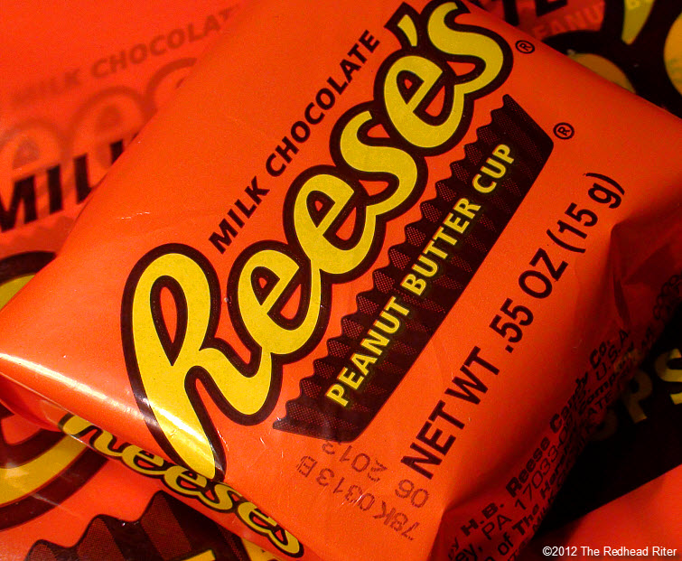 reeses peanutbutter cup wrapped orange 1