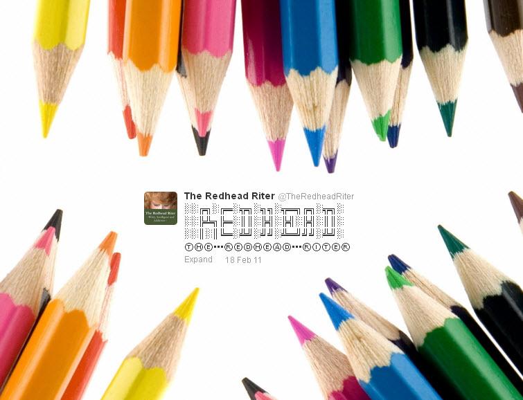 twitter art the redhead riter 2011-02-18
