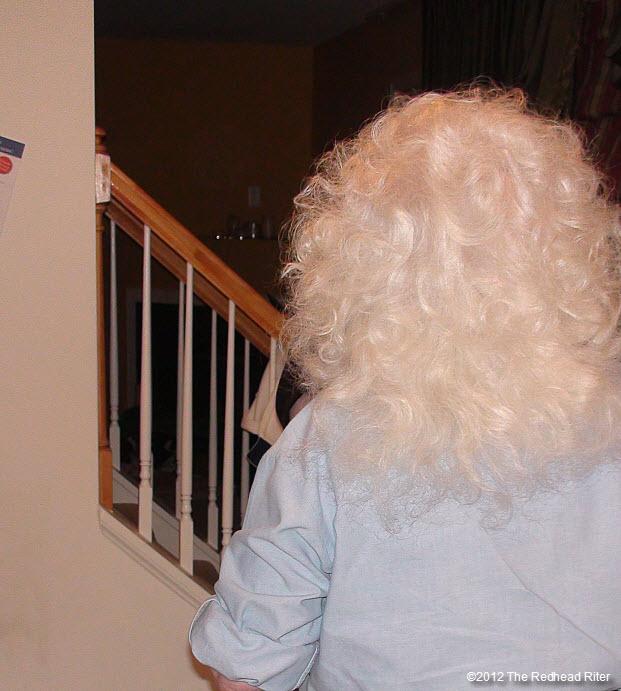 beautiful white hair mrs claus