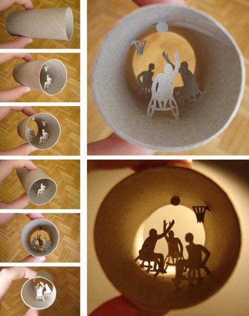 toilet paper roll  anastassia elias basketball