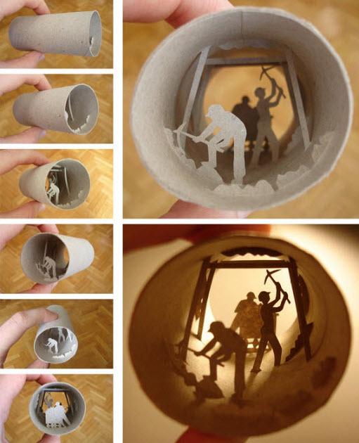 toilet paper roll  anastassia elias miners