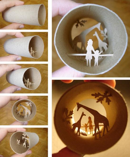 toilet paper roll  anastassia elias zoo giraffes