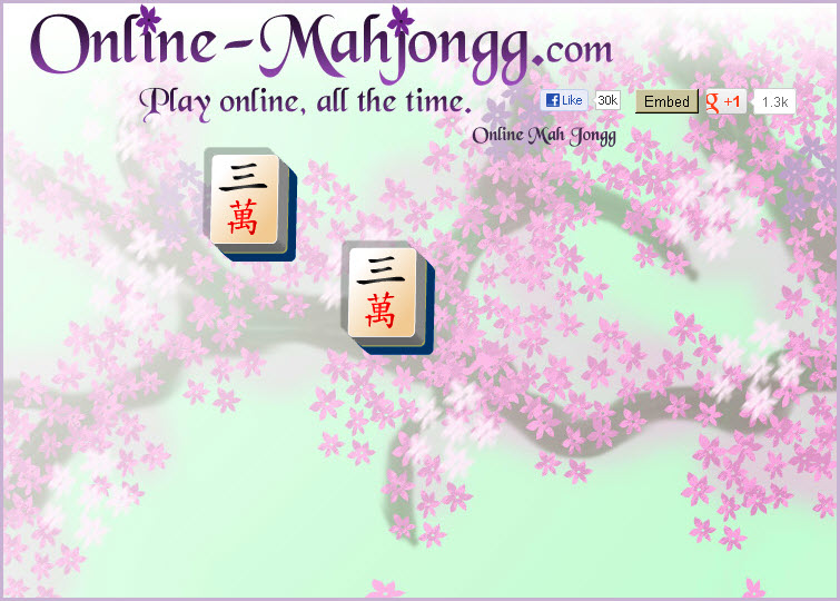 Online Mahjong Game Aging Relaxing 2