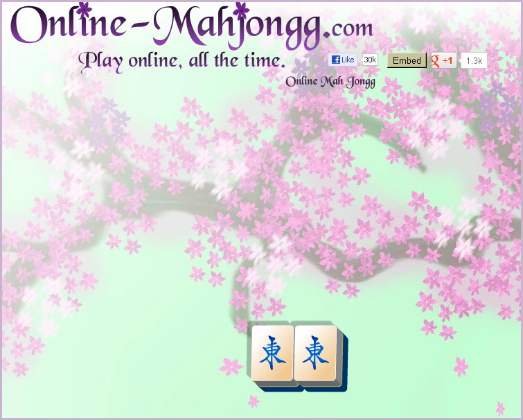 Online Mahjong Game Aging Relaxing 3