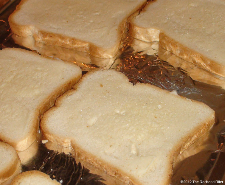 toasted buttered tapioca bread