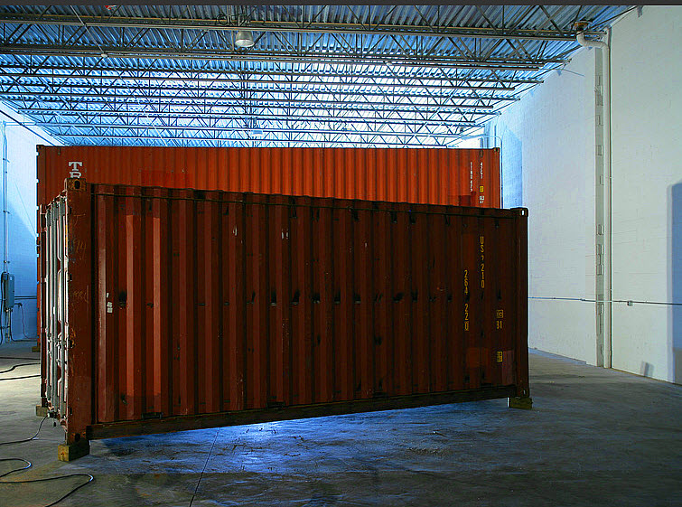 Storage Container Home Peter Aaron Architectural Photographer 1