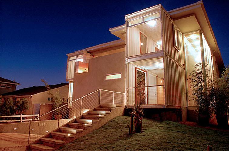 Storage Container Home Redondo Beach House Demaria Design