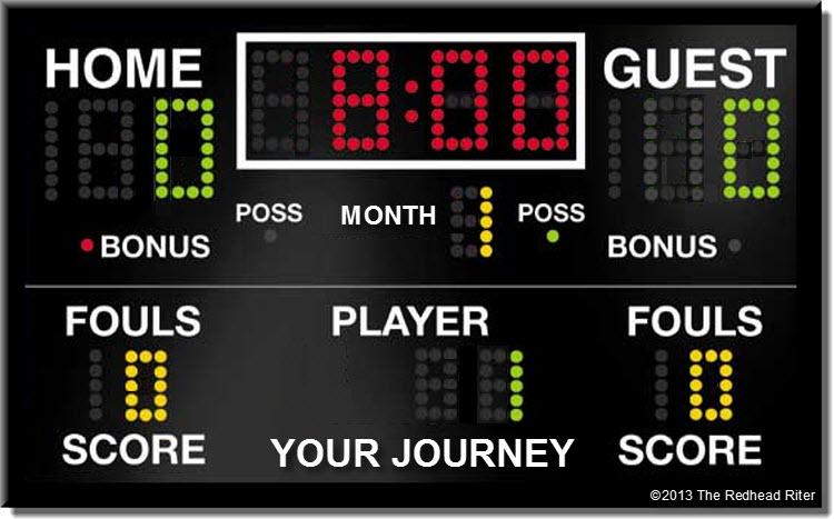 The Score Black Scoreboard