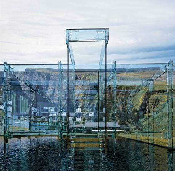 Glass House Designed By Carlo Santambrogio