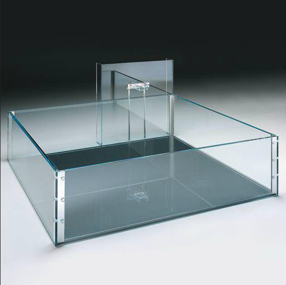 Glass Tub Designed By Carlo Santambrogio