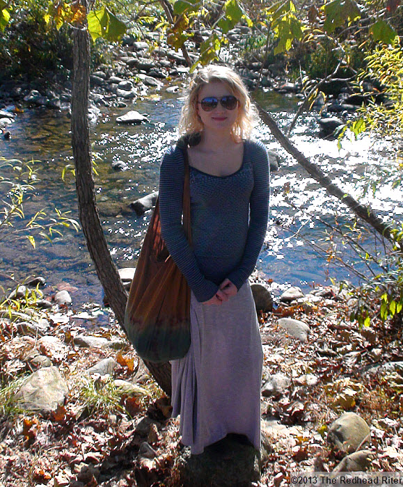 Graves' Mountain Alyssa by river