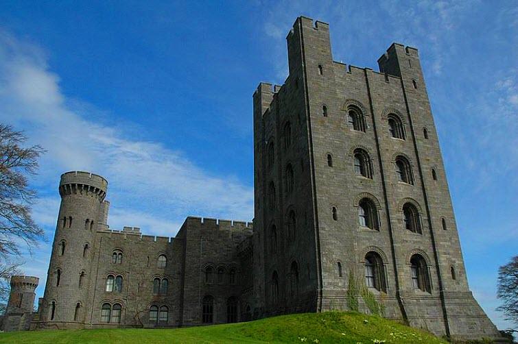 Penrhyn Castle Love Message Alice Douglas
