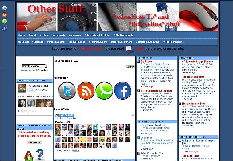 other stuff blog blogroll