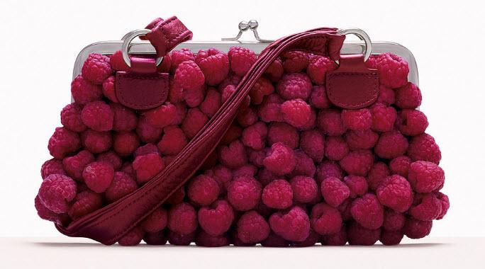 Fulvio Bonavia photographer raspberry purse clutch
