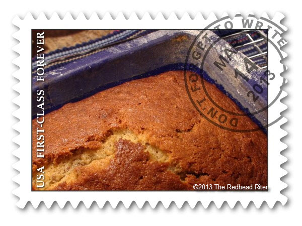 banana bread  Fake Postage Stamp