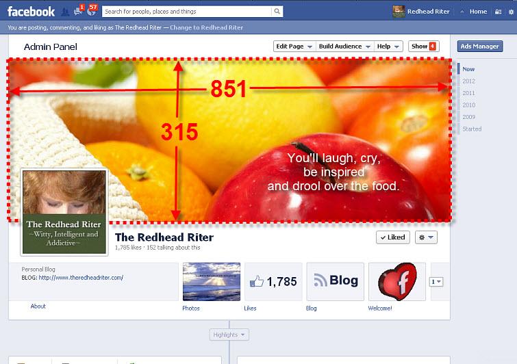 facebook header size 851 x 315