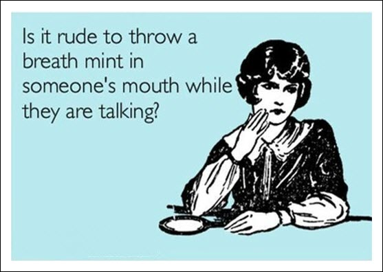 funny card quote breath mint