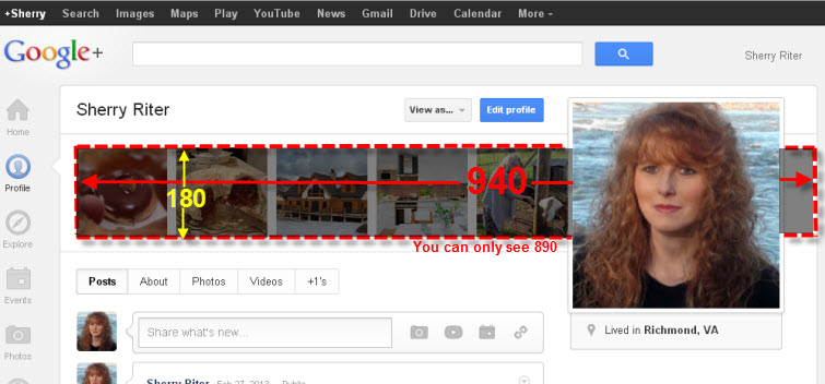 google header size 940 x 180