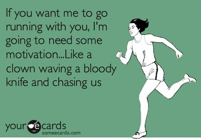 humor running motivation