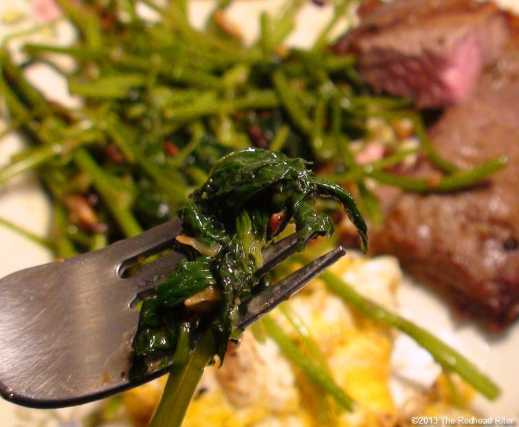 Sweet Potato Shoots Recipe  greens 10