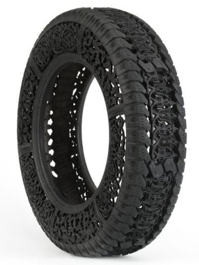 engraved rubber tires Wim Delvoye 1