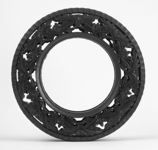 engraved rubber tires Wim Delvoye 8