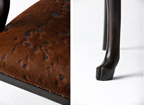 Artist Merve Kahraman antlers chair 3
