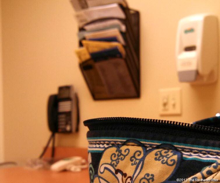 doctors office cloth purse