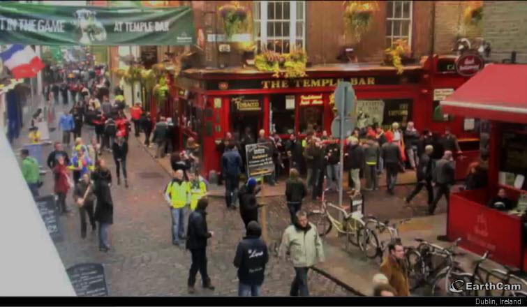 dublin ireland earthcam webcam