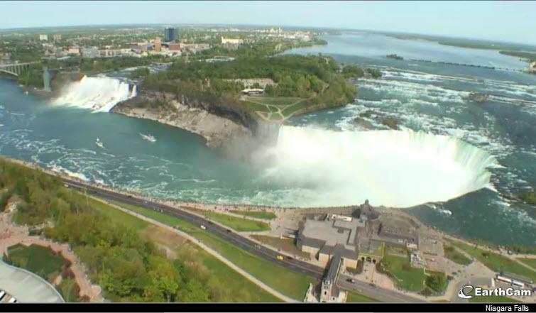 niagara falls earthcam webcam