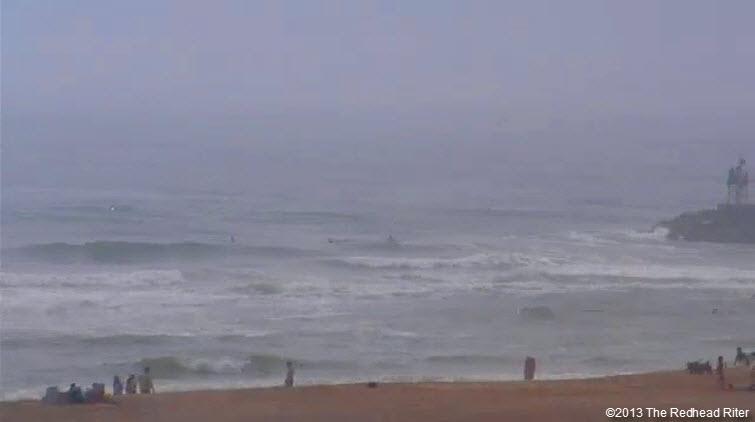 va beach ocean waves beach 2013-05-19
