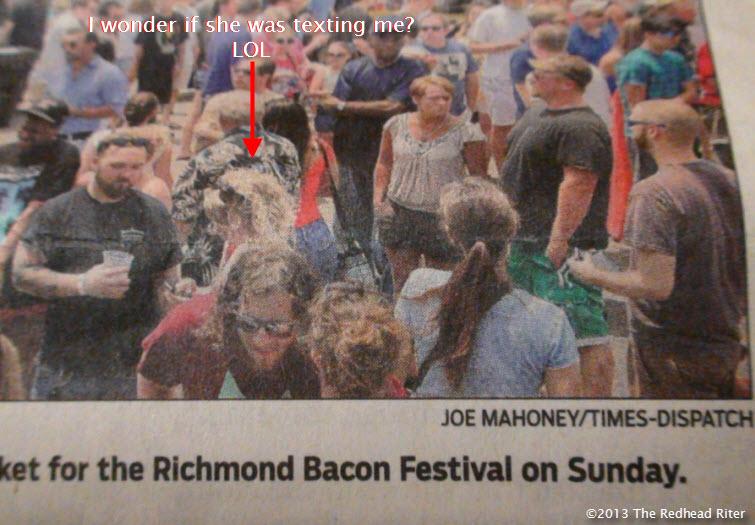 Richmond Virginia First Bacon Festival