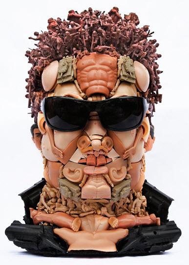 arnie doll parts sculpture
