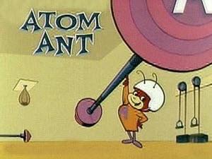 atom ant cartoon