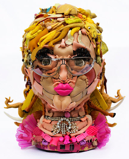 kerri anne doll parts sculpture