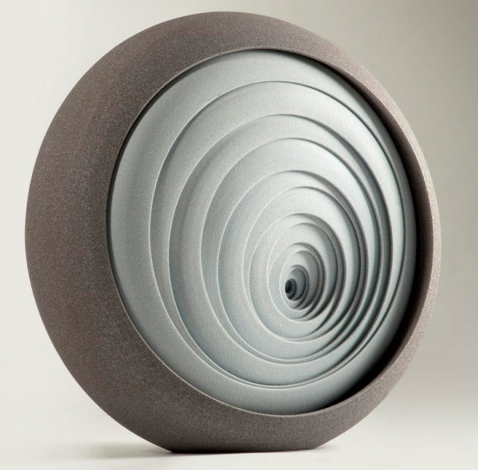 Ceramic Sculptures, Matthew Chambers, Increase II - 2010. 40cm H