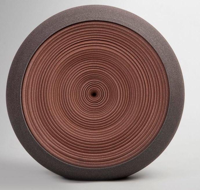 Ceramic Sculptures, Matthew Chambers, Waves - 2011. 39cm H