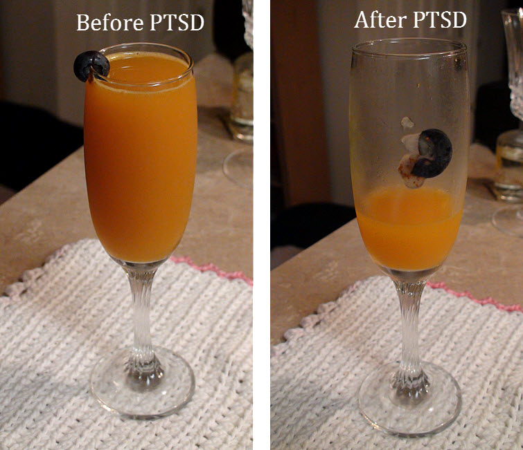 before and after PTSD