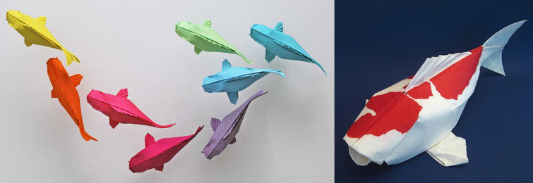 Origami Artist Mobano Fish 2