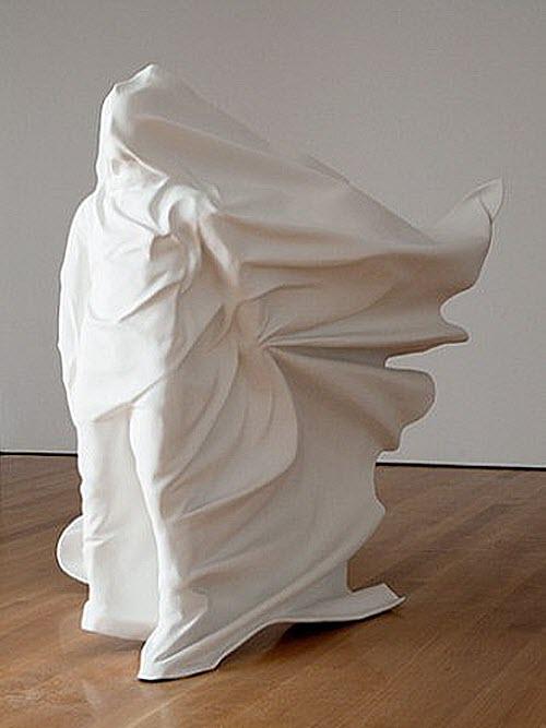 Daniel Arsham, Like A Sheet wind