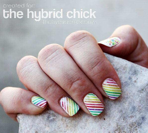 fingernail humor art fruit stripe gum