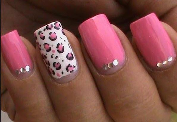 fingernail humor art pink cougar