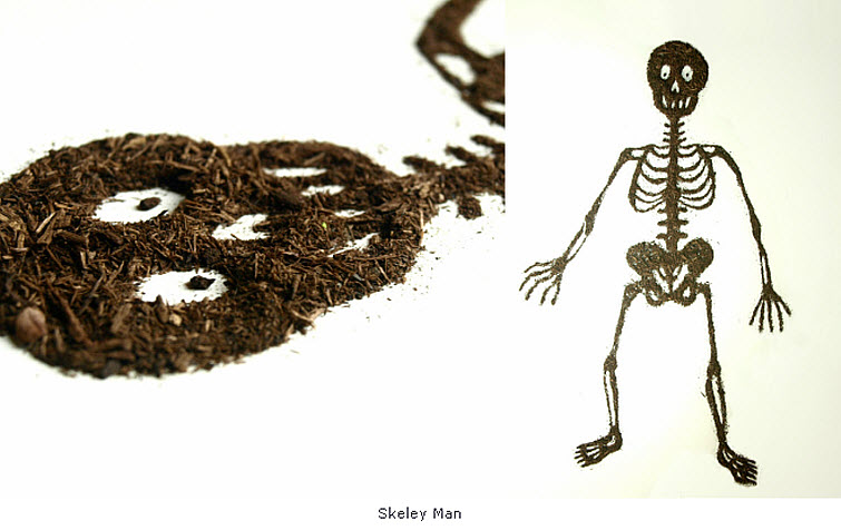 skeleton Dirt Illustration Sarah Rosado