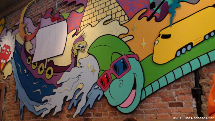 Mellow Mushroom Carytown wall decoration 1