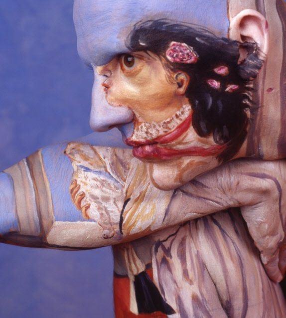 Chadwick & Spector's Museum Anatomy Paintings, Body Art 1