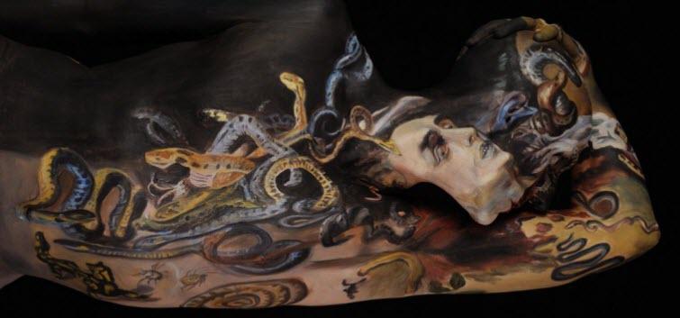 Chadwick & Spector's Museum Anatomy Paintings, Body Art 2